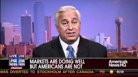 Ed Butowsky: Why Stocks Are Doing Well But Americans Are Not