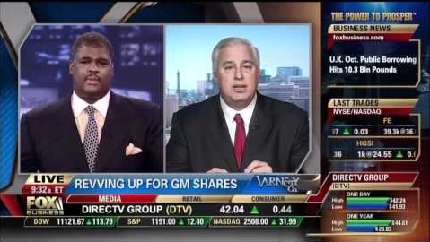Ed Butowsky Discusses GM's Return To NYSE