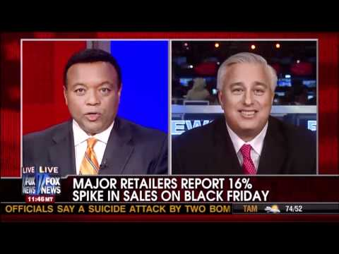 Ed Butowsky Discusses Spike In Black Friday Sales