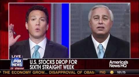 US Stocks Drop For Sixth Straight Week