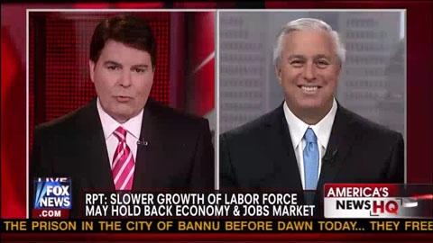 Slower Growth Of Labor Force May Hold Back Economy & Job Market