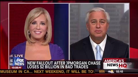 JPMorgan Chase Loses $2 Billion In Bad Hedging Trade