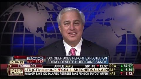 October Jobs Report Released Despite Hurricane Sandy