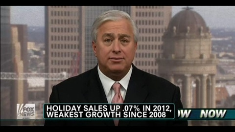 Holiday Sales Up .07% in 2012, Weakest Growth Since 2008