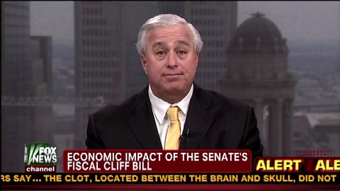 Economic Impact Of The Senate's Fiscal Cliff Bill