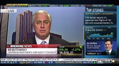 Dow Closes At 5-Year High