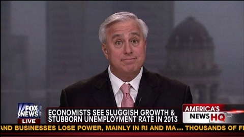 Economists See Sluggish Growth & Stubborn Unemployment Rate In 2013