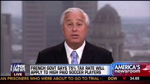French Govt Says 75 Percent Tax Rate Will Apply To High Paid Athletes