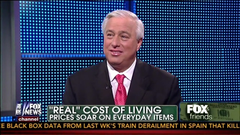 Real Cost Of Living Prices Soar On Everyday Items