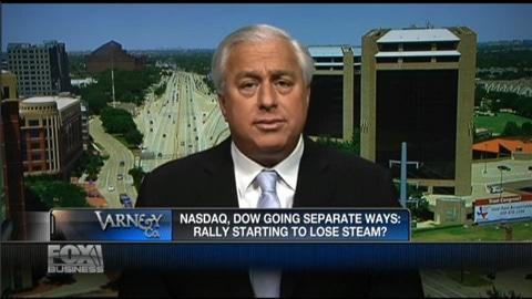 NASDAQ DOW Going Separate Ways