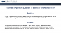 The Most Important Question to Ask a Financial Advisor